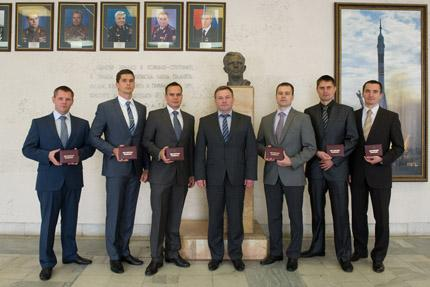Novos cosmonautas 2014