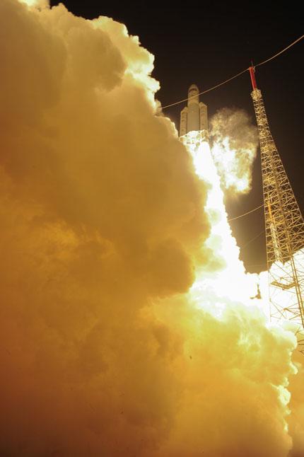 VA219  Ariane 5 ES with ATV-5 Georges Lemaître