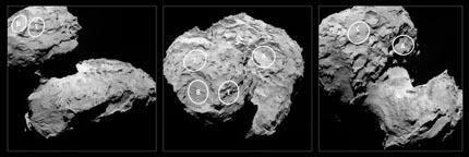Philae_candidate_landing_sites_large