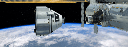 CST-100 ISS