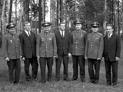 Troika Soyuz-6-7-8