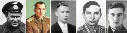 Primeiros cosmonautas 1