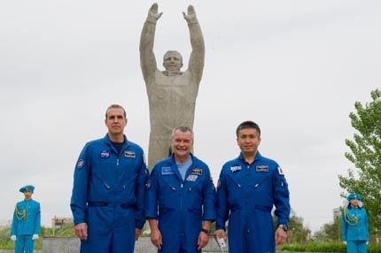 Soyuz TMA-09M visita
