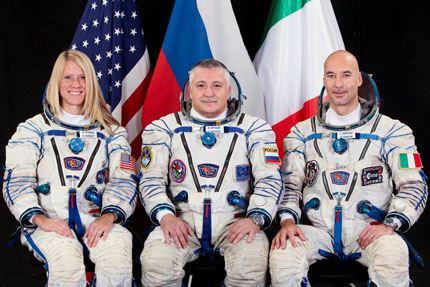 Tripulacao Soyuz TMA-09M